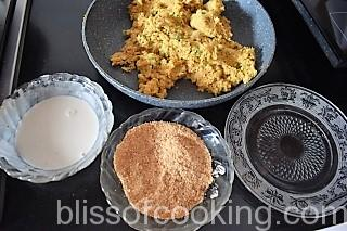 Paneer and Vegetable Cutlet (Cottage Cheese and Vegetable Patty)