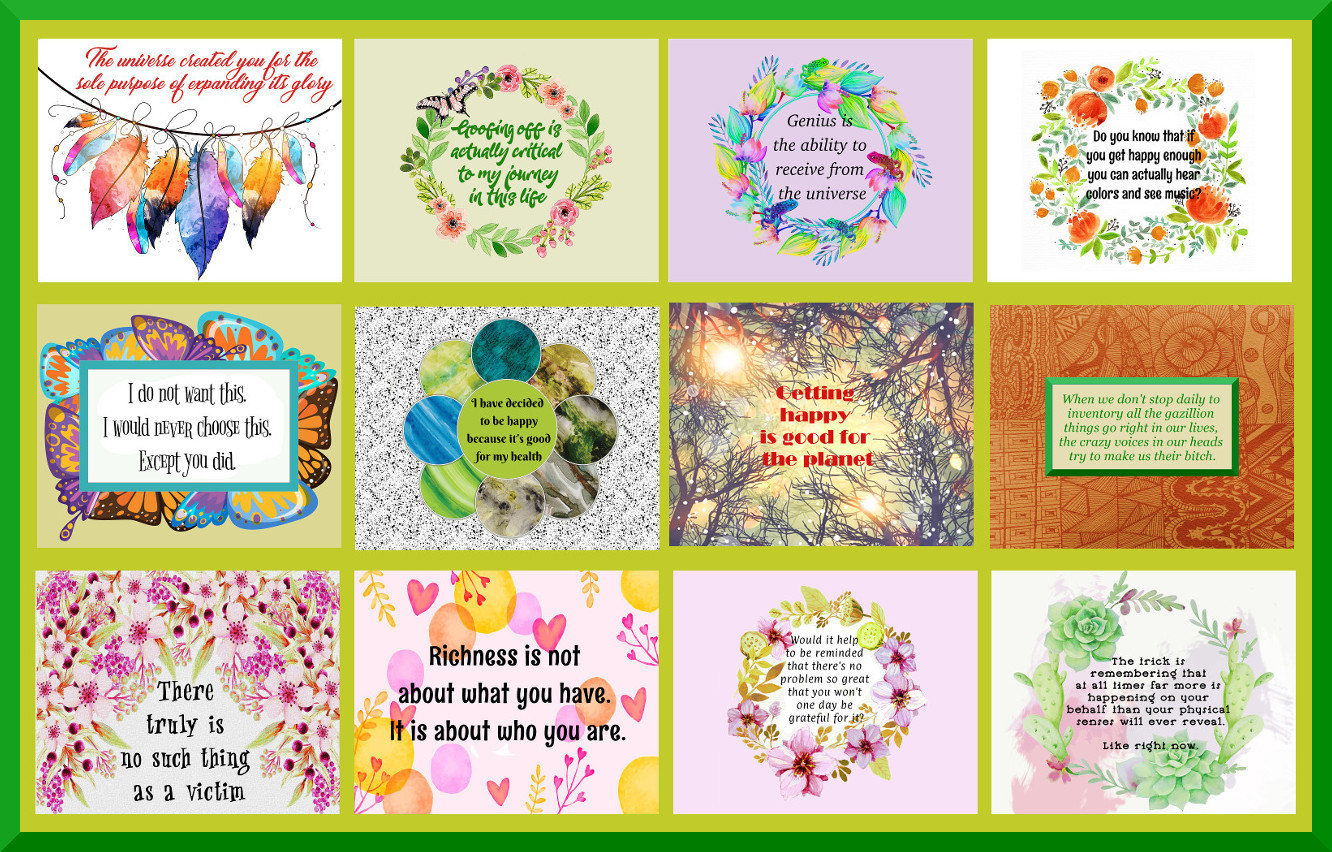40 Law Of Attraction Printable Quotes Collection 8 X 10