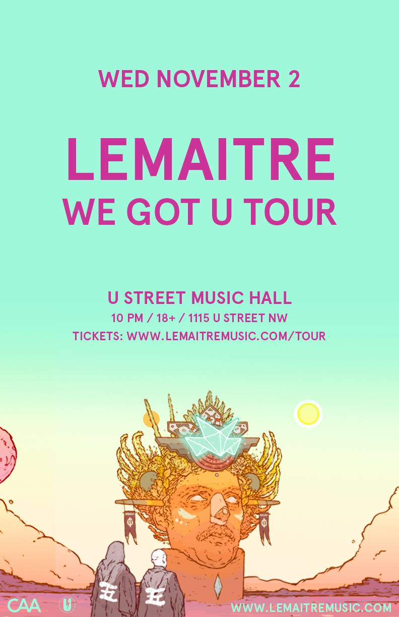 Lemaitre at U Street Music Hall on November 2