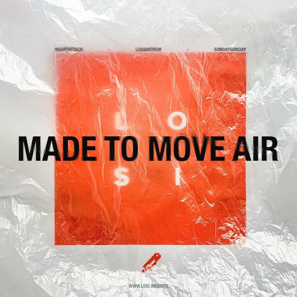 made to move air album art