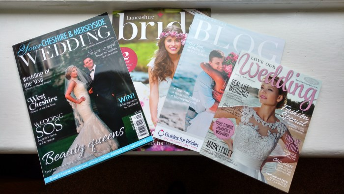 A Range of Wedding Magazines