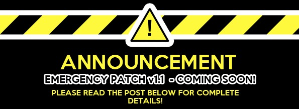 Emergency Patch v1.1 Preview