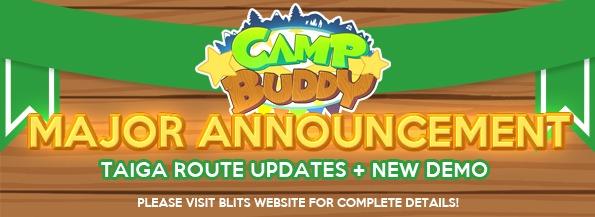 Major Update: Taiga Route Updates + New Demo