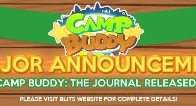 Camp Buddy: The Journal Released!