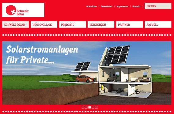 Die Berner Werbeagentur Blitz & Donner realisiert neues Erscheinungsbild für Schweiz-Solar