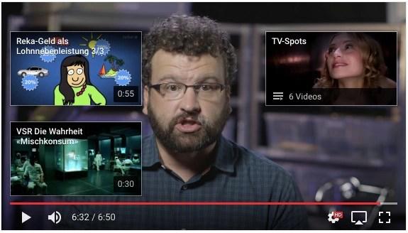 Abspann-Tool Youtube erklärt – mehrere Videos
