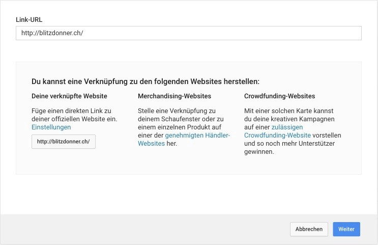 Abspann-Tool Youtube erklärt – Link Einstellungen