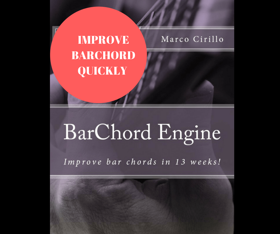 Improve BarChord quickly using this awesome fingerstyle guitar exercises