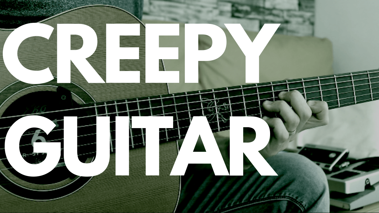 Spookycreepymysterious Chords On Guitar