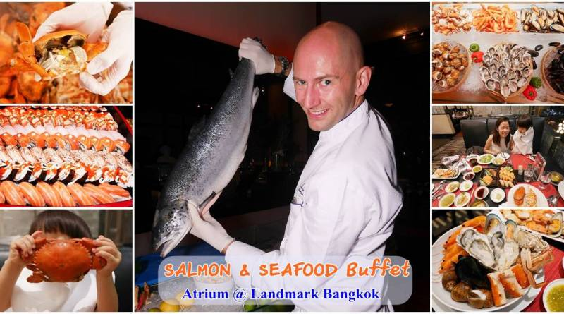 b&L family, Bangkok,Bella, Bljourney, BUFFET,Family, pantip, Review,The Journey of B&L Family, Travel, กระเตงลูกเที่ยว , ,มื้อพิเศษ, รีวิวร้านอาหาร, หม่าม้าเล้ง ,ห้ามพลาด ,อร่อย , เบลล่า ,เลี้ยงลูกนอกบ้าน, แม่และเด็ก , pantip , kitchen ,เมนูเด็ด , ของหวาน , คาเฟ่ , Cafe , อร่อย ,ทิพ ,พาลูกเที่ยว , กุ้งเผา, บุฟเฟต์ , อาหาร , , อาหารทะเล , ส่วนลด , ครอบครัวสุขสันต์, บุฟเฟ่ต์ ,พันทิป , แซลมอน , อาหารทะเล , กุ้งเผา , landmark , Bangkok , atrium , salmon , seafood buffet , discount , แซลมอน , แลนด์มาร์ค , สุขุมวิท , นานา , เอเทรียม , 4 จ่าย 2 , สี่จ่ายสอง , ปูคลองโคน , ปูม้า , ปูทะเล , ปูอลาสก้า , ท้องปลาแซลมอน , พุงปลาแซลมอน , ศุกร์ , บุฟเฟต์วันศุกร์ , บุฟเฟต์วันเสาร์ ,แผนที่ , รถไฟฟ้า , วันเกิด, โปรบัตรเครดิต, หรุ่ม , ล่าเตียง , ไทยโบราณ , ส่วนลด
