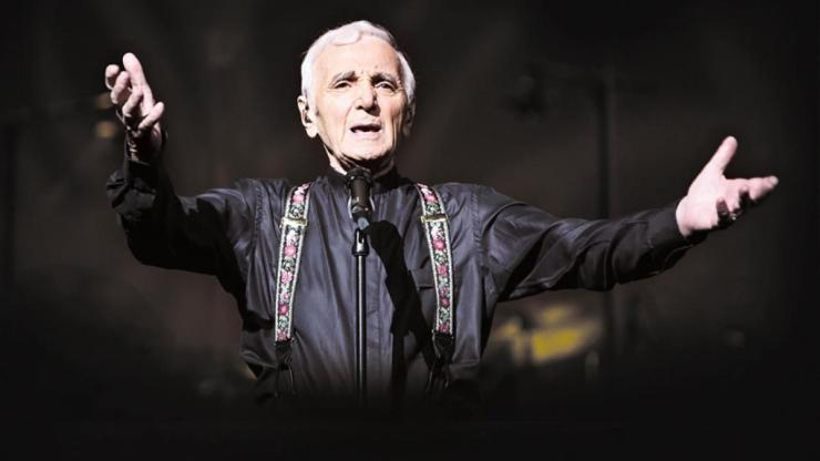 Charles Aznavour in concerto a Taormina