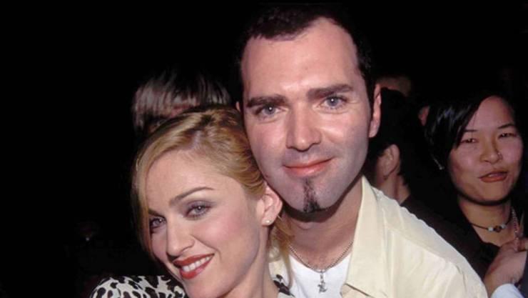 Madonna e Cristopher Ciccone