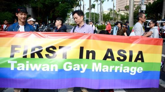 diritti gay taiwan
