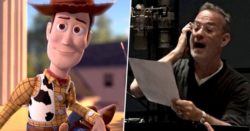 tom hanks in TOY STORY