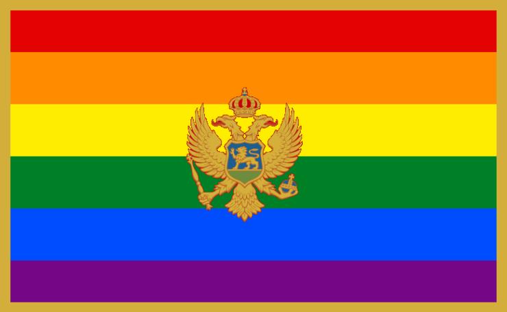 bandiera lgbt montenegro