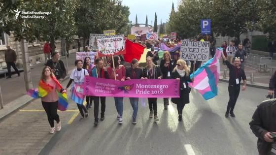 montenegro diritti gay