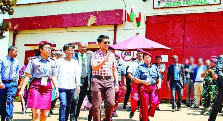 malagasy president prison