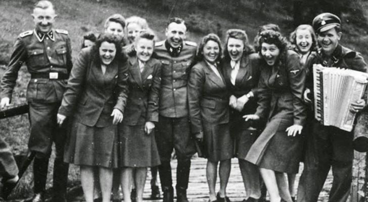 guardie donne naziste