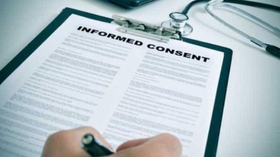 trattamenti sanitari consenso