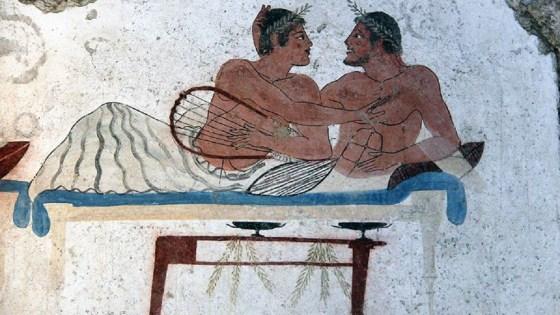 simposio antica grecia