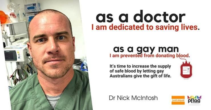gay blood donation australia