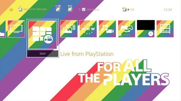 for all the players sony play station