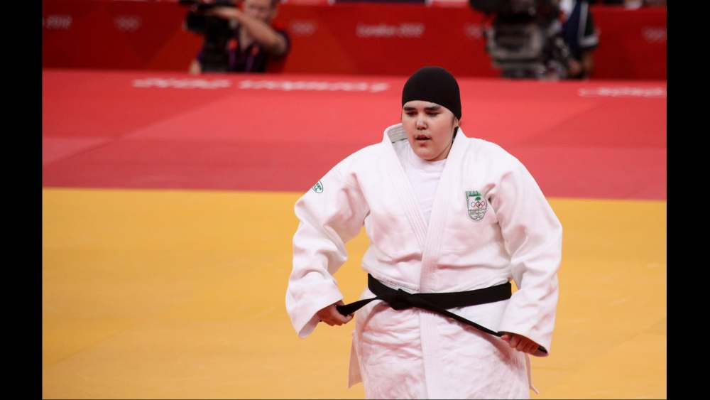 donna araba judo