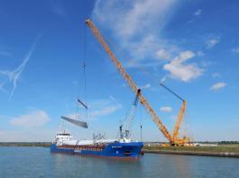 Hull's WWL ALS ensures smooth logistics at wind farm development