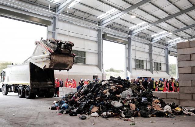 Yorwaste opens £3m waste transfer station