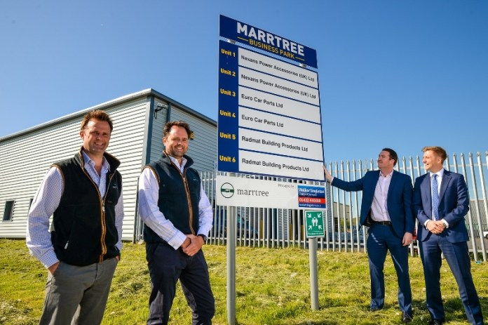 £1.5m Normanton business park redevelopment now fully let