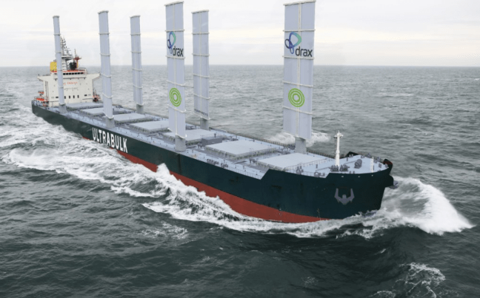 Drax cutting shipping emissions with new partnership