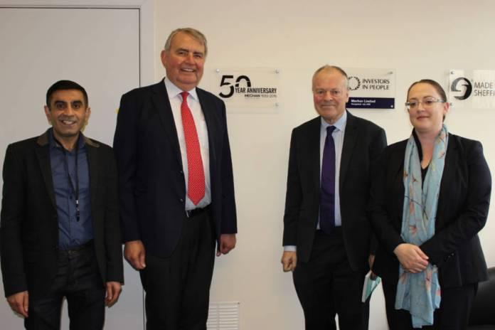 MP visit marks fiftieth anniversary at Sheffield's Mechan