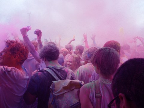 Holi-Festival/ 29.07.2012/ Postbahnhof/ Aleksandra Pawlowska