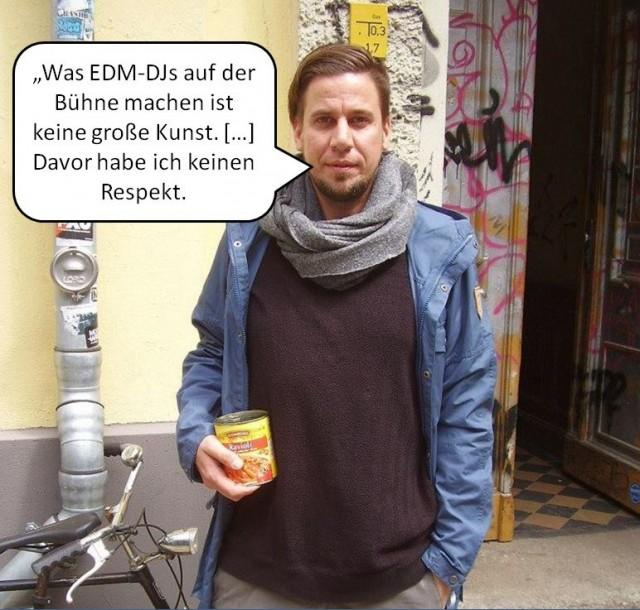 Oliver Koletzki über EDM Musik