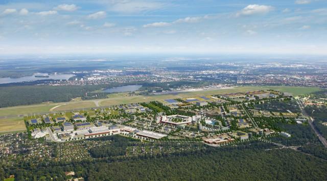 Flughafen Tegel Luftbild, Foto: Andreas Schiebel mit freundlicher Genehmigung Tegel Projekt GmbH