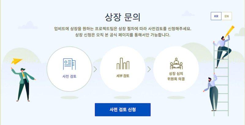 """업비트, """"상장 원하면 '사전검토' 신청하세요"""""""