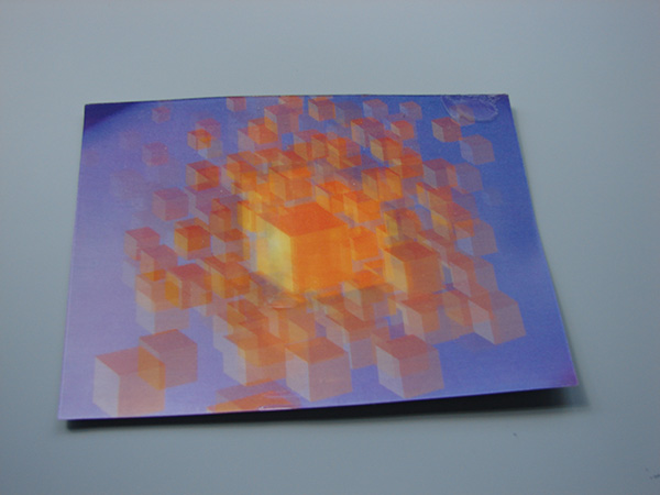 Magic Block Postcard