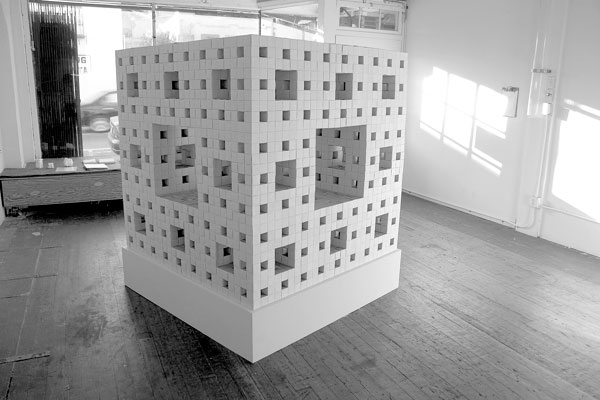 Menger Sponge - Machine Project - LA - USA - 2007