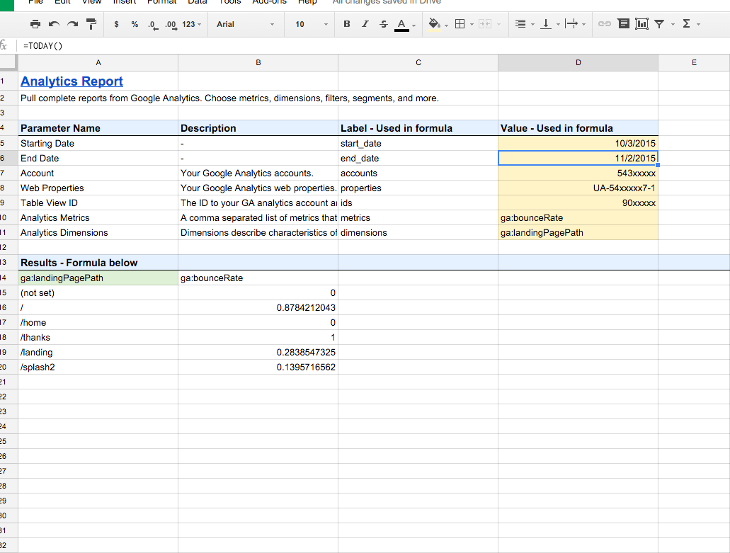 Excel Worksheet Update Automatically
