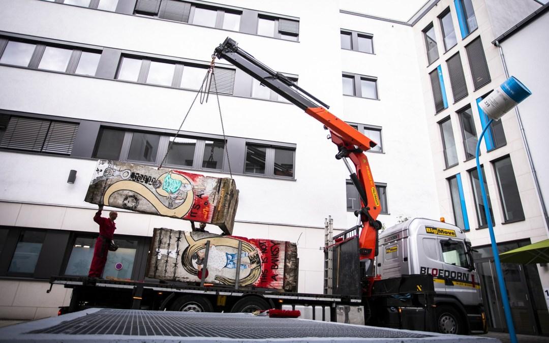 So kam die Berliner Mauer nach Dortmund