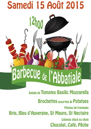 Traditionnel barbecue du 15 Août à l'Abbatiale