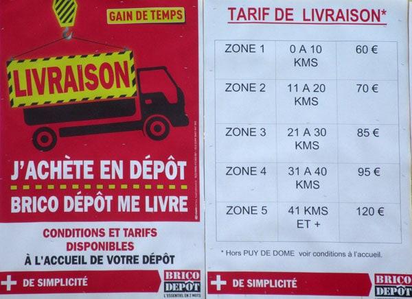 La Livraison Brico Depot C Est Bon Pour Votre Dos