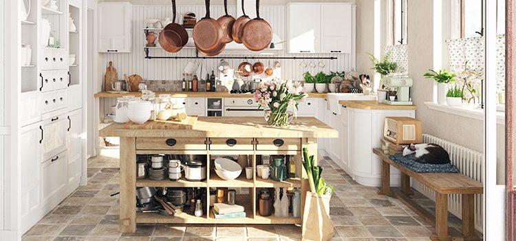 du carrelage vintage pour la cuisine
