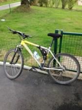 Mon vélo pour garder la forme