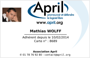 april : adherent
