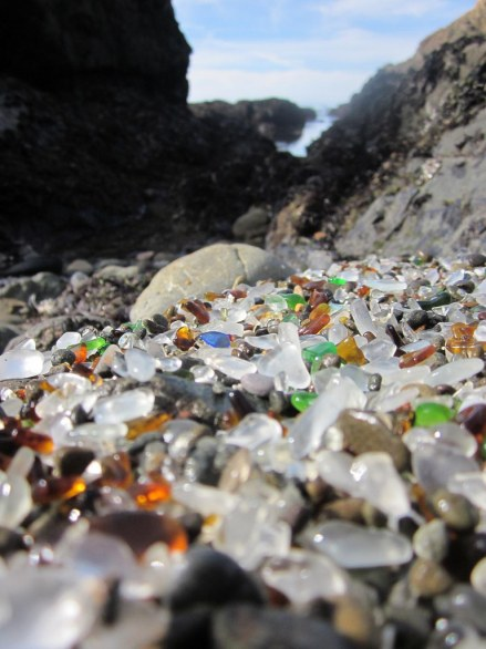 sassi glass beach