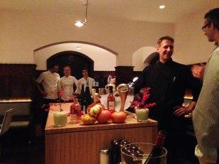 Das kompetente Küchenteam der Weinlände