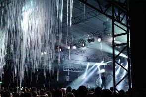 Mal richtig Licht auf der Bühne - Mark Forster - Konzert München Dezember 2016