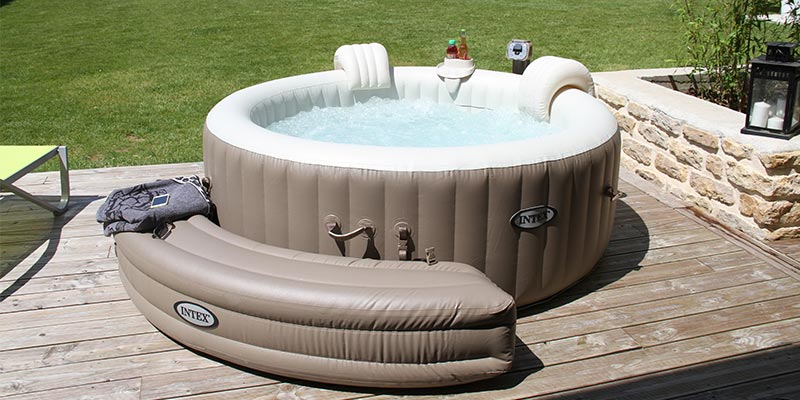 spa gonflable intex a bulles rond pure spa