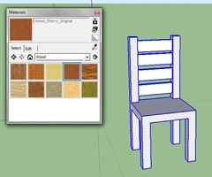 chaise google sketchup
